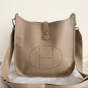 Hermès Grey Hobo Medium